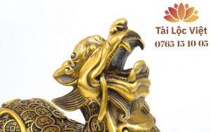 Đầu Tượng Tỳ Hưu Đồng Vàng, Mình Tiền - Chiêu Tài, Trấn Sát