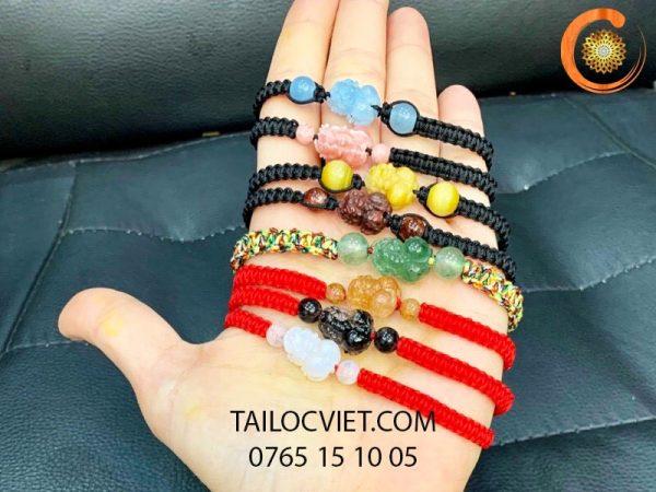 Các mẫu vòng đeo tay Tỳ Hưu