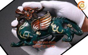 Tượng Tỳ Hưu phong thủy bằng đồng